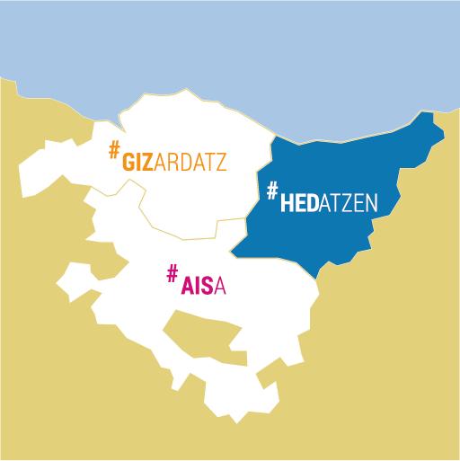 Mapa Euskadi Hedatzen
