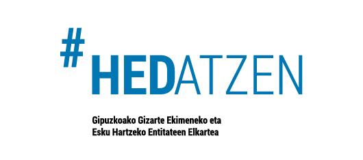 Hedatzen logo euskera